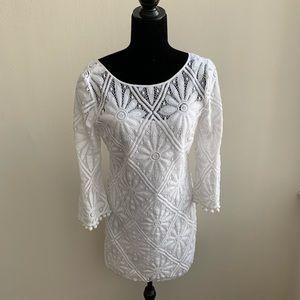 Lilly Pulitzer White Topanga Tunic Dress Medium